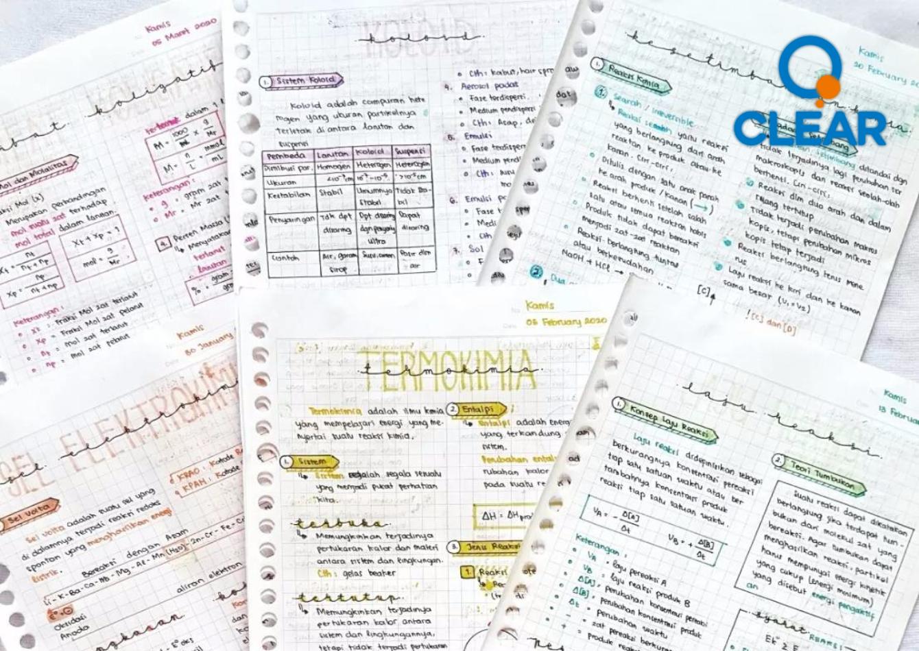 4 Catatan Kimia Kelas 12 Sma Clear Indonesia News